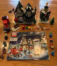 used LEGO Creator Winter Village Post Office Set 10222 - Holiday Seasonal
