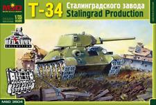 MSD 3504 T34/76 1942 Stalingrad version 1/35 mit zubehör