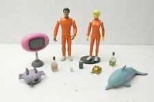 Palisades Toys Adult Swim Sea Lab 2021 Dr. Quentin Quinn & Debbie DuPree LOOSE