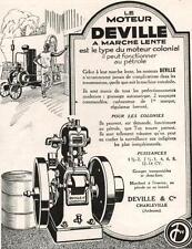 ▬► PUBLICITE ADVERTISING AD Poêle DEVILLE 1926 (e)