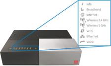 NUOVO ULTIMO MODEM ROUTER TIM HUB ADSL 2+ VDSL FIBRA WIFI FINO 1000 MEGA DGA4132