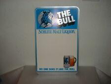 Schlitz Malt Liquor 1991 Bar Top Standee Cardboard Display Beer Sign