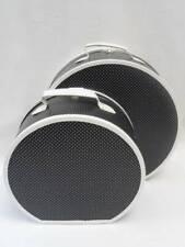 Loevenich Hutkoffer gepunktet schwarz 40cm Hutschachtel