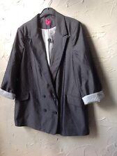 👀 *g:21 @'George👀 Size UK 18 Lovely Grey Lined Jacket **new*