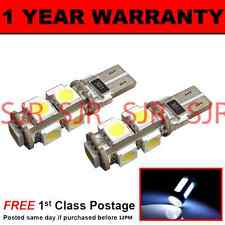 W5W T10 501 CANBUS ERROR FREE WHITE 9 LED SIDELIGHT SIDE LIGHT BULBS X2 SL101706