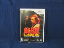 AC/DC LIVE ROCKBAND TRACK PACK WII  - NEW OPEN BOX, STORE DISPLAY