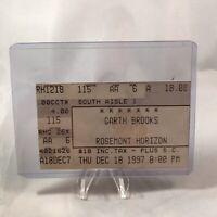 Garth Brooks Rosemont Horizon Illinois Concert Ticket Stub Vtg December 18 1997