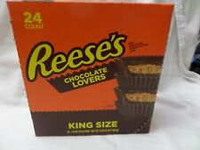 Reese's Peanut Butter Lovers King Size Lot Of 24 Sealed 2021