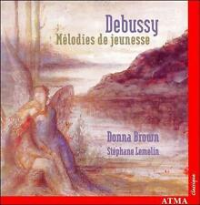 Debussy: Melodies De Jeunesse CD NEW
