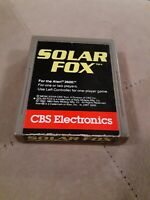 SOLAR FOX by CBS for ATARI 2600 ▪︎ CARTRIDGE ONLY ▪︎FREE SHIPPING ▪︎