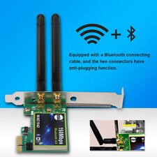 Bluetooth 4.0 Wireless Wifi 2.4G PCI-E Card Adapter for PC Laptop BT