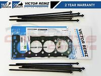 FOR MG 18 K ENGINES EXPRESS MGF TF ZR ZS ZT HEAD GASKET BOLTS VICTOR REINZ