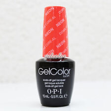 OPI GelColor Soak Off LED/UV Gel Nail NEON Color .5oz Down to the Core-al #GCN38