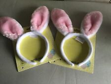 Easter Bunny Ears - childs headband. Pink faux fur.