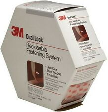"3M 6463 Dual Lock™ Reclosable Fastener System 06463 Clear, 1"" x 4.9 yd"