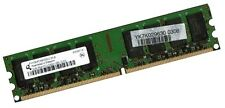 2GB RAM PC Speicher DDR2 667 Mhz PC2-5300U Intel + AMD Low Density DIMM