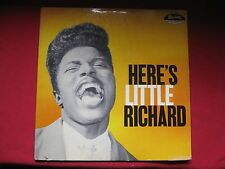 "LITTLE RICHARD ""HERE'S LITTLE RICHARD"" 1957 LP SPECIALTY SP-100 HIS 1ST ISSUE LP"