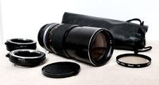 SONY NEX E-Mount DSLR fit 200mm Portrait Macro lens Kit for NEX-5 3 F5 5R 6 VG20