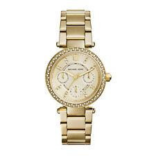 Michael Kors MK6056 Uhr Damenuhr  Mini Parker Gold Kristall Edelstahl