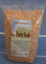 Purity Seeds Golden Omega Flax Seed 1 lb. bag Omega 3, linseed, linaza