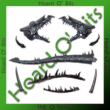 WARHAMMER BIN BITS HIGH ELF ON DRAGON - DRAGON HEAD with SPIKES