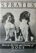 SPRATT'S HINTS ON THE CARE & FEEDING OF DOGS & CATALOG DOG GUIDE 1936