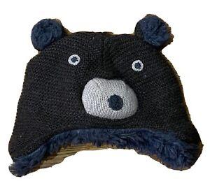 Baby Gap Bear Warm Hat Size 6-12 Months - EUC