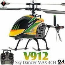 """16"""" V912 Large Metal Gyro Rc Helicopter (Yellow)"""