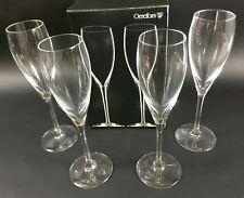 Champagne Sekt Orrefors More 4x Gläser Schweden Kult Lagerbielke Champania  2AO3