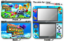 Team Kirby Clash Deluxe Skin Decal Vinyl Sticker Cover for NEW Nintendo 3DS XL