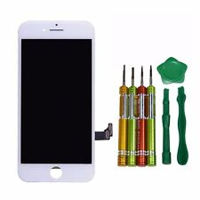 "NEW WHITE IPHONE 7 ORIGINAL 4.7"" LCD TOUCH DISPLAY SCREEN ASSEMBLY WITH TOOLS"