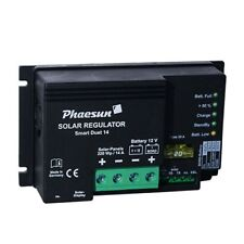 Dual Battery Solar Charge Controller Smart Duet 14 (by Votronic) for campers