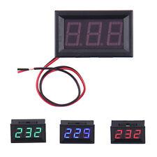 AC 70-500V Digital Voltmeter LED Anzeige Panel 2 Draht  Stromspannung Prüfung
