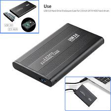 """External Backup Hard Drive Case 3TB USB 3.0 Enclosure 2.5"""" Portable HDD Sata SSD"""