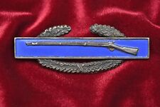 WWII U.S. COMBAT INFANTRY BADGE – 2-PIECE STERLING