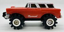 1982 Schaper Stomper Chevy Nomad Wagon Red 4x4 Drives & Lights 'FUN x4' Series