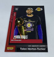 2019 20 LOS ANGELES LAKERS PANINI INSTANT NBA CHAMPIONS #11 TALEN HORTON TUCKER