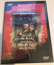 Blood & Honor (Brand New Dvd) RARE Region Free Miles O'Keefe
