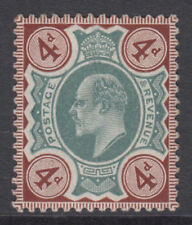 More details for sg 236a 4d green & chocolate brown m24 (1) in generally fine and fresh unmounted