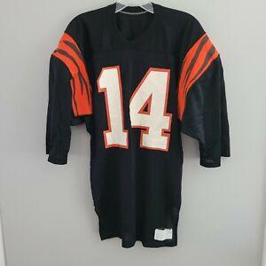 Vintage 80s 90s NFL Cincinnati Bengals Ken Anderson 14 Football Jersey Mens M
