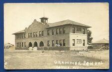 Donna Texas tx Grammer School real photo postcard RPPC