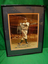 CHARLIE GEHRINGER AUTOGRAPHED SIGNED FRAMED 8x10 PHOTO THE MECHANICAL MAN TIGERS