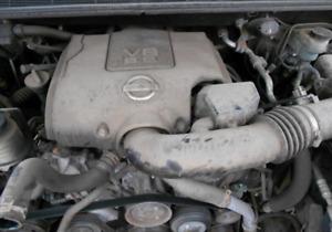 2007 Nissan Armada Titan VK56DE Engine 5.6L 129K Miles W/90 Day Warranty TESTED