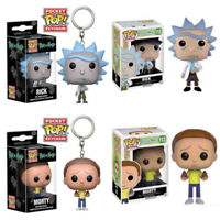 Funko Pop Rick And Morty Vinyl Action Figure Toy Doll & Keychain Gift