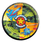 """American Heroes Camo Military Camouflage Birthday Party 9"""" Paper Dinner Plates"""