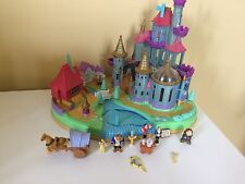 Disney Beauty & the Beast CASTLE Magnétique Polly Pocket complet