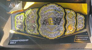 AEW World Championship Toy Belt Wrestling
