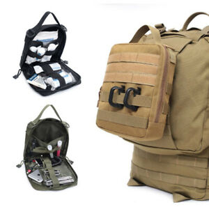 New Military Tactical Outdoor MOLLE Hunting Camping Tool Knife Pouch Medic Bag