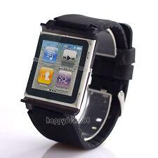 Silicone Watch Band Wrist Strap Case Cover For Apple iPod Nano 6 6th Generation