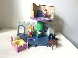 Ben and Holly's Little Kingdom Thistle Castle Playset 3 Figures Bed